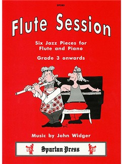 John Widger: Flute Session Books | Flute, Piano Accompaniment