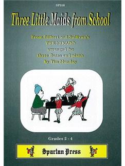 Three Little Maids from School Books | Flute