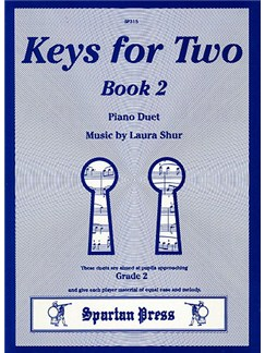 Laura Shur: Keys for Two Book 2 Books | Piano Duet