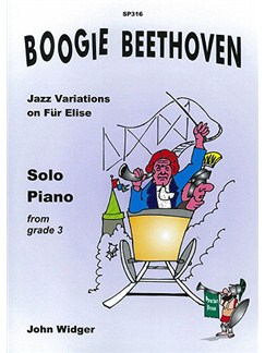 Boogie Beethoven - Jazz Variations On Fur Elise Books | Piano