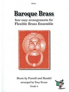 Baroque Brass (Purcell and Handel): Brass Ensemble Books | Brass Ensemble