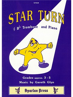 Gareth Glyn: Star Turn (B Flat Trombone) Books | Trombone, Piano Accompaniment
