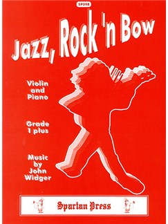 John Widger: Jazz, Rock 'n' Bow (without CD) (Violin & Piano) Books | Piano, Piano Accompaniment