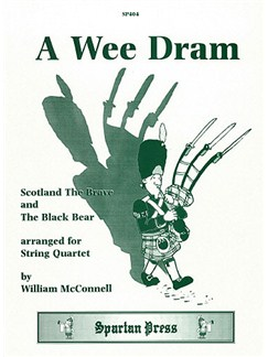William McConnell: A Wee Dram Books | String Quartet