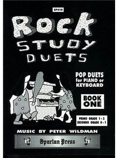 Peter Wildman: Rock Study Duets - Book 1 Books | Piano Duet