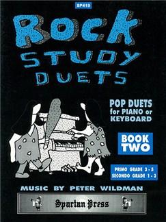Peter Wildman: Rock Study Piano Duets Book 2 Books | Piano Duet