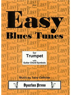 Easy Blues Tunes Books | Trumpet, Guitar (with Chord Symbols)