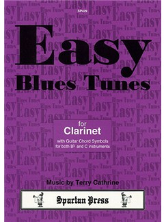 Terry Cathrine: Easy Blues Tunes Books | Clarinet (with Chord Symbols)