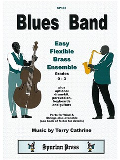 Terry Cathrine: Blues Band - Brass Ensemble Books | Brass Ensemble