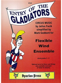 Julius Fucik: Entry of the Gladiators Books | Ensemble