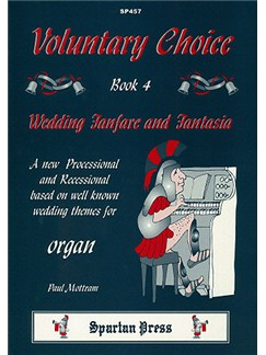 Paul Mottram: Voluntary Choice Book 4 Books | Organ