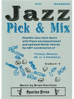 Jazz Pick & Mix (Woodwind Duet) Books | Wind Instruments (Duet)