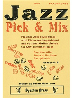 Jazz Pick & Mix (Saxophone Duet) Books | Saxophone Duet