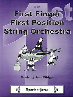John Widger: First Finger, First Position String Orchestra Books | Ensemble