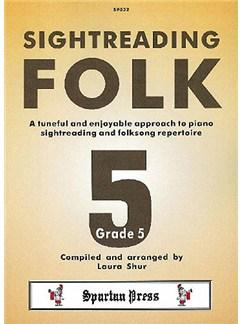 Sightreading Folk Grade 5 Books | Piano