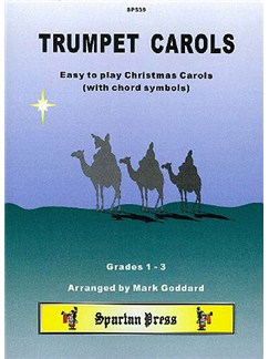 Trumpet Carols Books | Trumpet (with Chord Symbols)