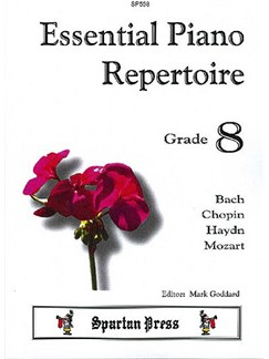 Essential Piano Repertoire Grade 8 Books | Piano