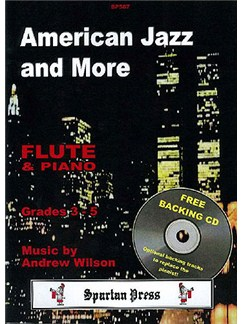 American Jazz and More Books and CDs | Flute, Piano Accompaniment