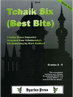Tchaik Six (Best Bits): Flexible Brass Ensemble Books | Flexible Brass Ensemble