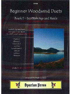 Scottish Jigs and Reels: Beginner Woodwind Duets Book 1 Books | Flute