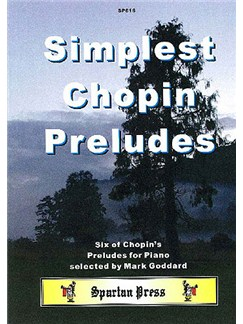 Simplest Chopin Preludes Books | Piano