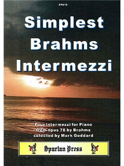 Simplest Brahms Intermezzi Books | Piano