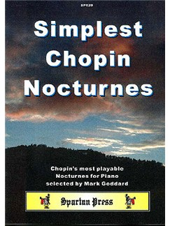 Simplest Chopin Nocturnes Books | Piano