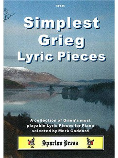 Simplest Grieg Lyric Pieces Books | Piano