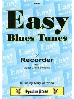 Easy Blues Tunes Books | Recorder