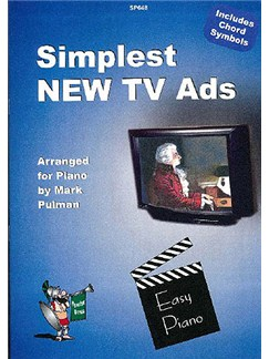 Simplest New TV Ads - Piano Books | Piano