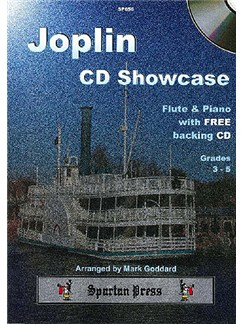 Joplin CD Showcase (Flute) Books and CDs | Flute, Piano Accompaniment