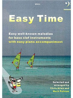 Easy Time [Bass Clef Instruments] Books | Bassoon, Cello, Trombone
