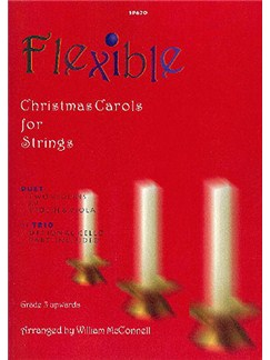 Flexible Christmas Carols For Strings Books | Violin (Duet)