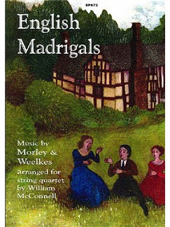 English Madrigals Books | String Quartet