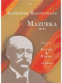 Mazurka Op. 31 by Alphonse Hasselmans (Flute & Piano) Books   Flute, Piano Accompaniment