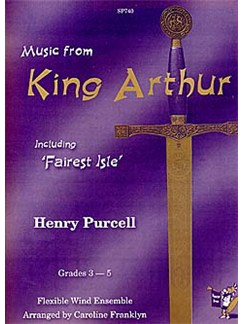 Music From King Arthur (Flexible Wind Ensemble) Books | Wind Ensemble