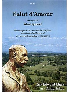 Sir Edward Elgar: Salut d'Amour for flexible wind quintet Books | Ensemble