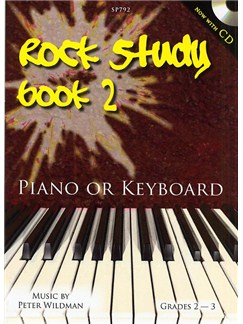 Rock Study Book 2 (Book/CD) Books and CDs | Piano or Keyboard