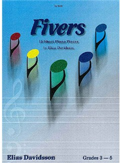 Elias Davidsson: Fivers - 15 Short Piano Piano Pieces Books | Piano