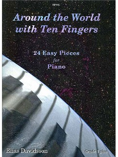 Elias Davidsson: Around The World With Ten Fingers (Piano Solo) Books | Piano