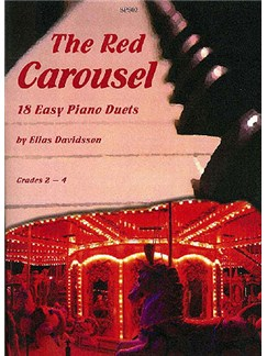 Elias Davidsson: The Red Carousel - 18 Easy Piano Duets Books | Piano