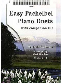 Johann Pachelbel: Easy Pachelbel Piano Duets Books and CDs | Piano Duet