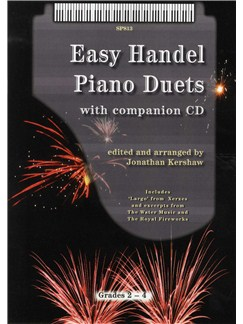 G.F. Handel: Easy Handel Piano Duets Books and CDs | Piano Duet