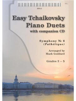 Easy Tchaikovsky Piano Duet Books and CDs | Piano Duet