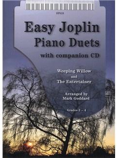 Scott Joplin: Easy Joplin Piano Duets Books and CDs | Piano Duet
