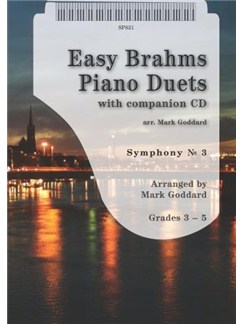 Johannes Brahms: Easy Brahms Piano Duets Books and CDs | Piano Duet