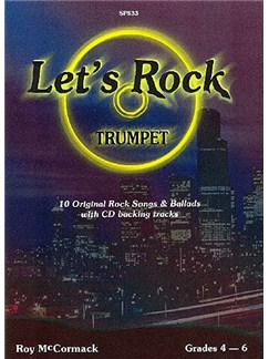 Roy McCormack: Let's Rock (Trumpet) Books and CDs | Trumpet