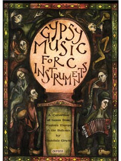 Gypsy Music for C Instruments with CD (Flute Solo) Books and CDs | Flute