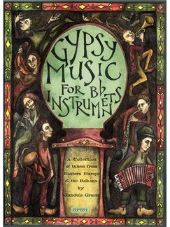 Gypsy Music for Bb Instruments with CD (Clarinet Solo) Books and CDs | Clarinet