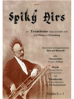 Spiky Airs For Trombone Books and CDs | Trombone, Piano Accompaniment